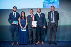 Attestis reçoit le prix E-GNSS Accelrator de Pierre Delsaux, Directeur Adjoint DG GROW
