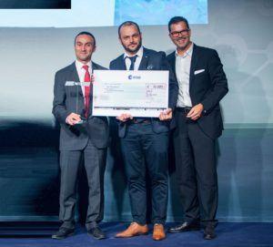Les prix ESA Space Solutions est décerné à Attestis lors du concours ESNC 2017