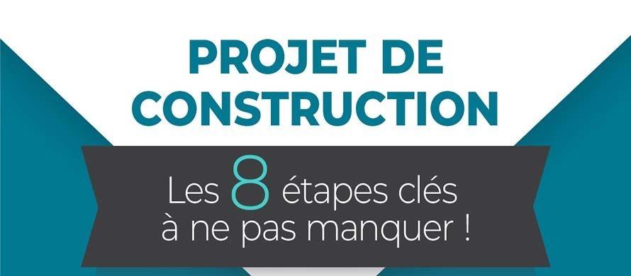[INFOGRAPHIE] Projet de construction : 8 étapes clés à ne pas manquer