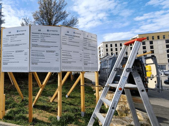 Attestis réalise l'affichage des permis de construire pour les promoteurs immobiliers