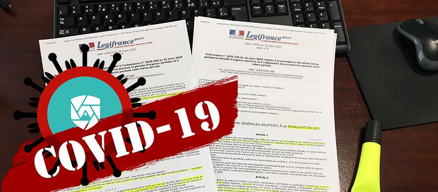 l'ordonnance 2020-306 interrompt le délai de recours des tiers contre les permis de construire